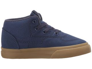 Vans Kids Half Cab (Toddler) (Gumsole) Insignia Blue/Parisian Night