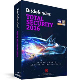 Bitdefender  Total Security 2016 UL11051001 EN