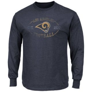 Los Angeles Rams Majestic A Life Above Long Sleeve T Shirt   Navy