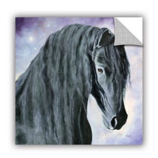 ArtWall ArtApeelz Hassel The Gentle Giant by Marina Petro Painting Print on Canvas