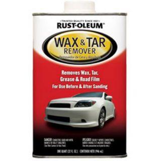 Rust Oleum Auto Wax and Tar Remover, 1 Quart
