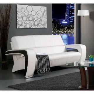 Hokku Designs Nova Leatherette Sofa