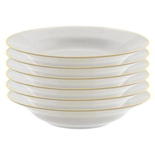 Ten Strawberry Street Gold Line 10 oz. Rim Soup Bowl