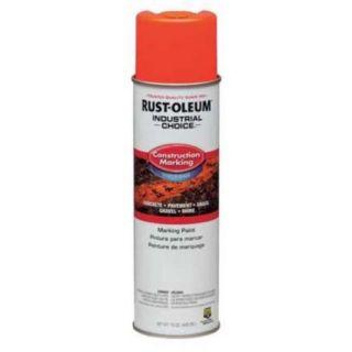 RUST OLEUM 264699 Marking Paint, Red Orange, 15oz