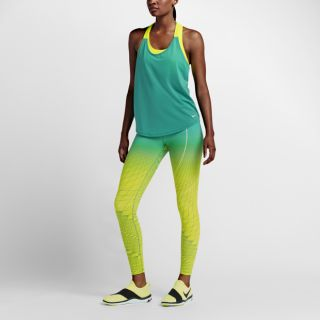 Nike Power Legendary Women's Printed Mid Rise Training Tights. Nike