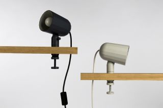 Noc Lamp with clip Grey by wrong.london