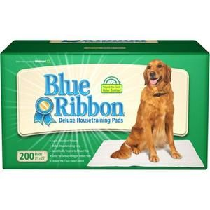 Blue Ribbon Deluxe Housetraining Pads, 200ct, pack of 2, 400ct total