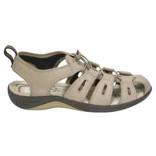 Route 66 Womens Donna II Open Heel Sandal   Tan   Clothing, Shoes
