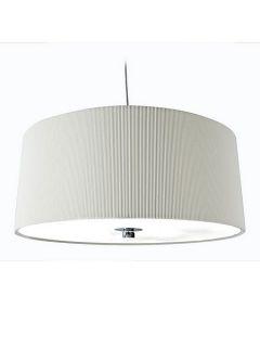 Linea Zaragoza large cream ceiling pendant