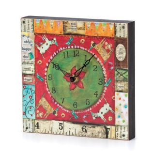 DEMDACO Joyful Nest Oh, Happy Day Clock   18976858