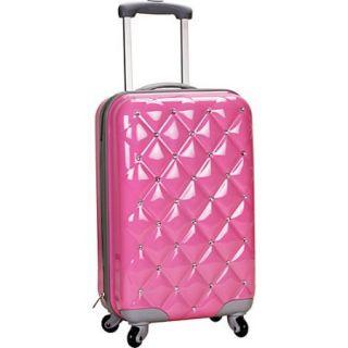"Rockland Luggage Diamond 20"" Hardside Spinner Carry on"