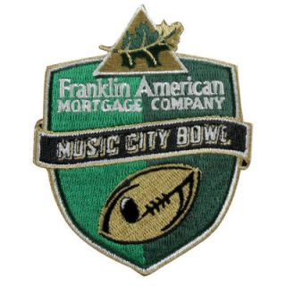 2012 Music City Bowl Game Patch