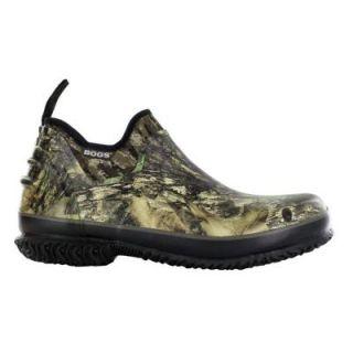 BOGS Field Trekker Camo Men Size 14 Mossy Oak Waterproof Rubber Slip On Hunting Shoe 71465 973 14