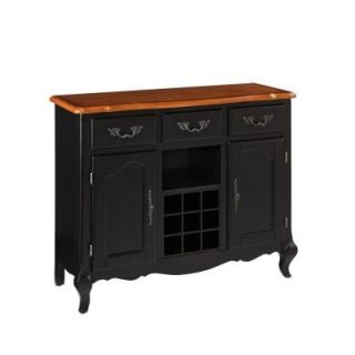 Home Styles Oak and Rubbed Black Buffet 5519 61