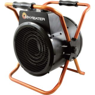 Mr. Heater Portable Forced Air Electric Heater — 5100 BTU, 120 Volts, Model# MH160FAET  Electric Garage   Industrial Heaters