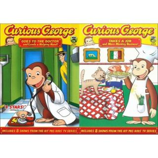 Curious George: Goes to Doctor/Takes a Job (2 Discs)