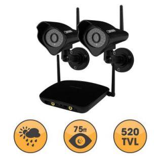 Defender PHOENIX Wireless 520 TVL Indoor/Outdoor Surveillance Camera with 450 ft. Range (2 Pack) DISCONTINUED 22300