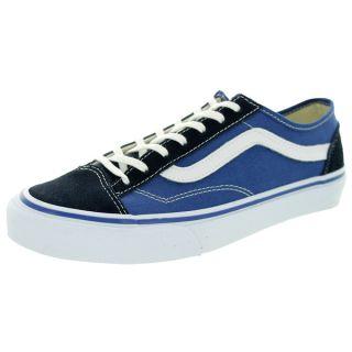 Vans Unisex Style 36 Slim Navy/Black/White Skate Shoes   18975768