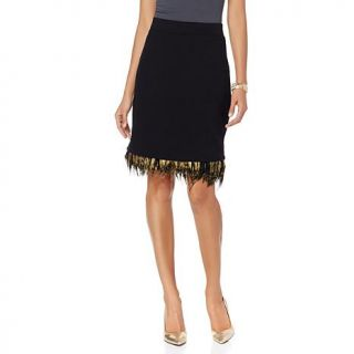 Wendy Williams Removable Feather Skirt   7824330