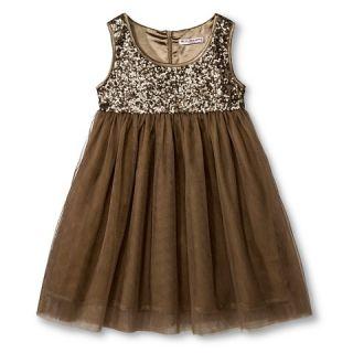 Toddler Girls Sequin Tulle Dress