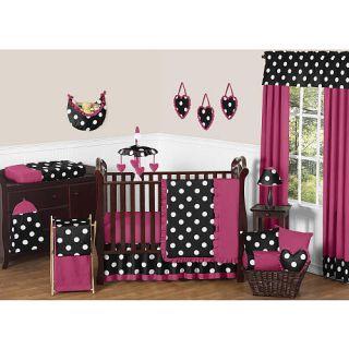 Sweet Jojo Designs Hot Dot 11 Piece Baby Crib Bedding Set    Sweet JoJo Designs
