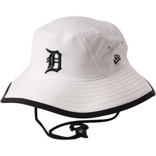 Detroit Tigers New Era Diamond Era Bucket Hat   White