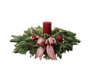 28 Country Christmas Centerpiece by ProFlowers —