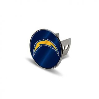 Chrome Metal Laser Hitch Cover   San Diego Chargers   7574891
