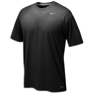 Nike Legend Poly Short Sleeve T Shirt   Mens   Training   Clothing   Game Royal/Dark Grey Heather/Matte Silver