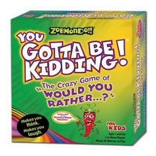 Zobmondo You Gotta Be Kidding! Game