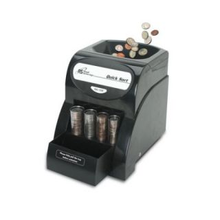 Royal Sovereign Quick Sort Electric One Row Coin Sorter