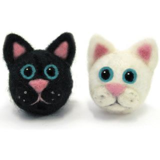 Feltworks Ball Cats Learn Needle Felting Kit   16841164