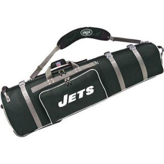 Mens NFL Luggage Wheeling Golf Travel Cover New York Jets/Green