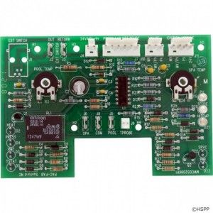 Pentair 470179 Circuit Board Thermostat IID Model