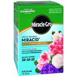 Miracle Gro Water Soluble Miracid Acid Loving Dry Plant Food 1LB ACID LOVE PLANT