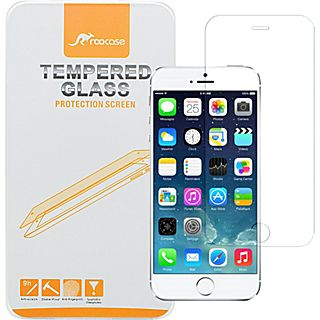rooCASE Premium Real Tempered Glass Screen Protector Guard for iPhone 6   4.7