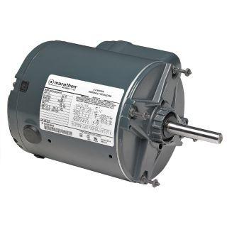 MARATHON MOTORS 1/3 HP Poultry Fan Motor,Permanent Split Capacitor,1725 Nameplate RPM,115/230 Voltage,Frame 48Z   5U266|5KCP33GNA471S   Grainger