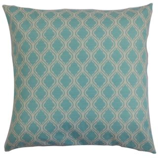 Panyin Blue Geometric Down Filled Throw Pillow   16232278
