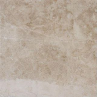 MS International Crema Cappuccino 12 in. x 12 in. Polished Marble Floor and Wall Tile (5 sq. ft. / case) THDCAPU1212P