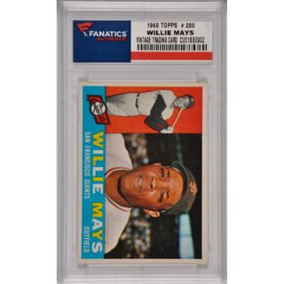 Willie Mays San Francisco Giants 1960 Topps #200 Card 2