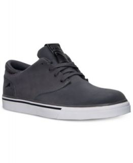 Converse Mens Chuck Taylor Street Mid Casual Sneakers from Finish