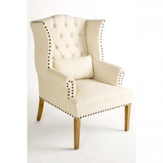 Daphne Wingback Arm Chair by Statements by J