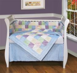 Soft Baby 4 piece Crib Bedding Set   13978294   Shopping