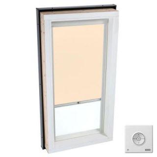 VELUX White Solar Powered Light Filtering Skylight Blind for FCM/QPF/VCM/VCE/VCS 4646 Models RSC 4646 1028
