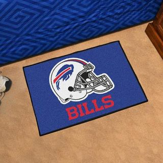 Officially Licensed NFL Team Logo Carpeted Starter Mat by Sports Licensing Solutions   Bills   8224659