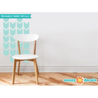 Sunny Decals Chevron Arrows Fabric Wall Decal