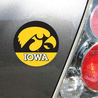 """Iowa Hawkeyes WinCraft 4"""" Die Cut Car Magnet"""