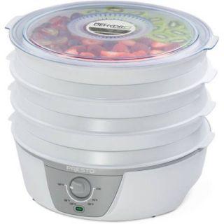 Presto Dehydro Electric Food Dehydrator with Adjustable Temperature Control, 06302