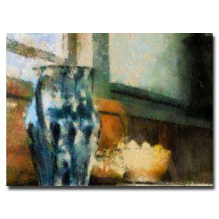 Lois Bryan Still Life with Blue Jug Canvas Art   14040252