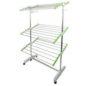 Green Rack Foldable Heavy Duty Drying & Storage Rack System —